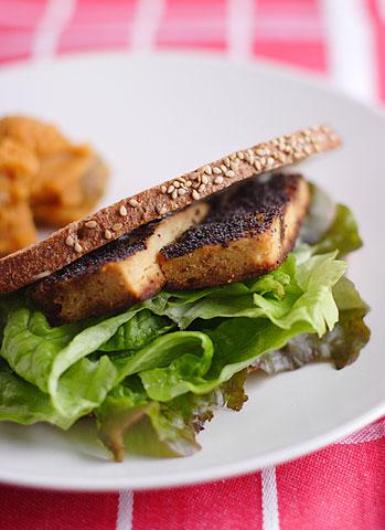 鶏ミソ松風焼きサンドイッチ