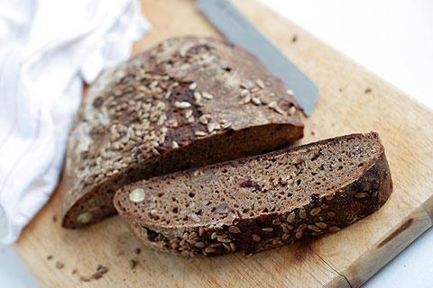 ポテトコーン天然酵母パン