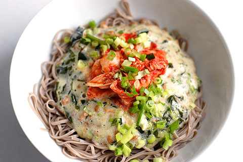 生卵納豆キムチ