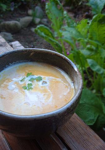 ポタージュスープ秋味