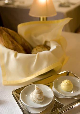 Del Posto: パン、バター、ラード
