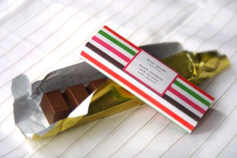ケイト・スペードのチョコレート