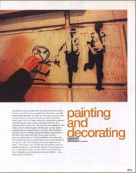 BANKSY on LEVEL MAGAZINE 00 / 2
