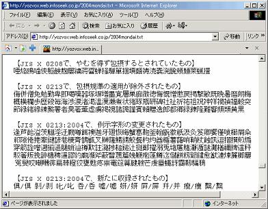 SJIS2004サイト