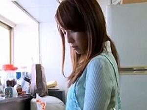 吉○美智子似の美人若妻が巨根鬼畜男に中出し強姦レイプされる