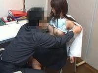 【レイプ】軽い気持ちで万引きして捕まった美少女に、大人の厳しい性指導!