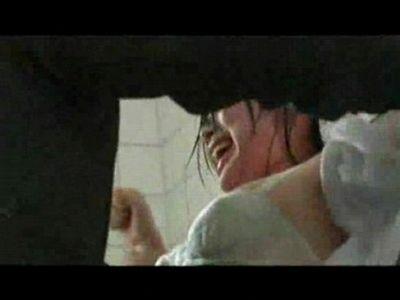 【鬼畜レイプ】トイレ掃除中のJKを突如襲撃!ズタボロにして幼いマンコにチンポをぶち込む