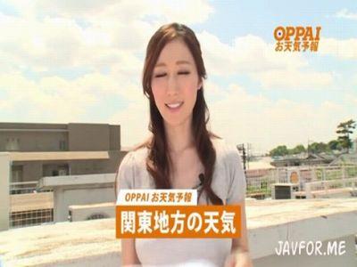 JULIA 清楚で綺麗な報道担当アナウンサーが、ノーブラTV出演で視聴率が急上昇!