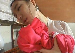 劇エロ!チマチョゴリの韓国女性とセックス