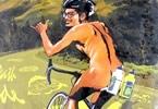 玉井雪雄の自転車エッセイ漫画 じこまん