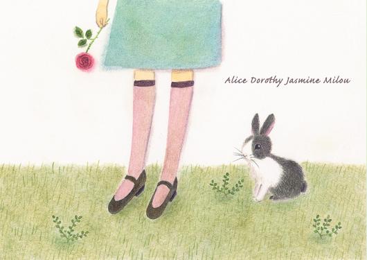 Alice Dorothy Jasmine Milou 〜 girlieloungeの新しい靴